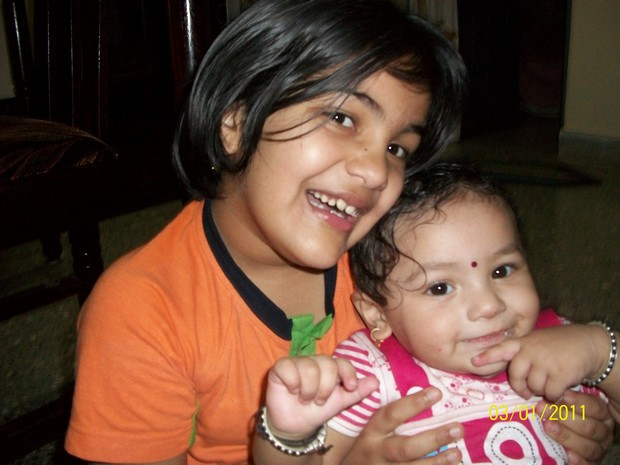 Sanjana and Sanika
